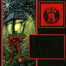 Night Before Christmas - Quick Page Set - Left