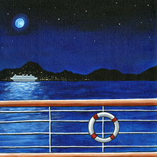 Night Cruise- Print