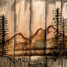 Rustic Mountains - .99