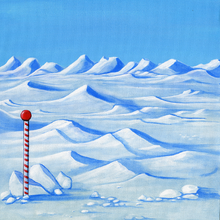 North Pole - Left - PRINT