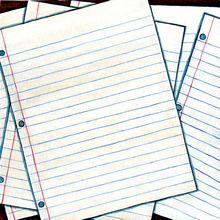 Notebook Paper - Print