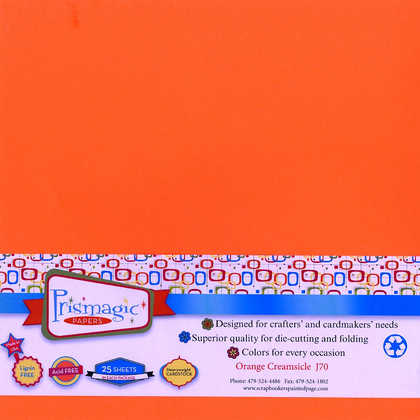 Orange Creamsicle / 25 Sheet Pack