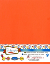 Orange Creamsicle / Letter Size / 25 Sheet Pack