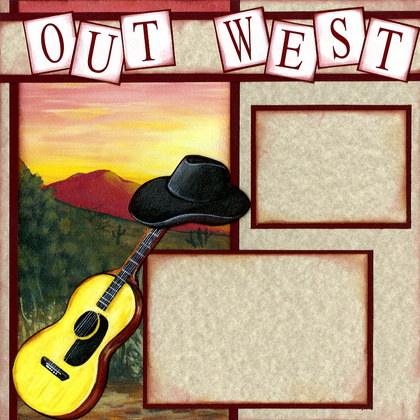 Out West (Page Kit) - Left