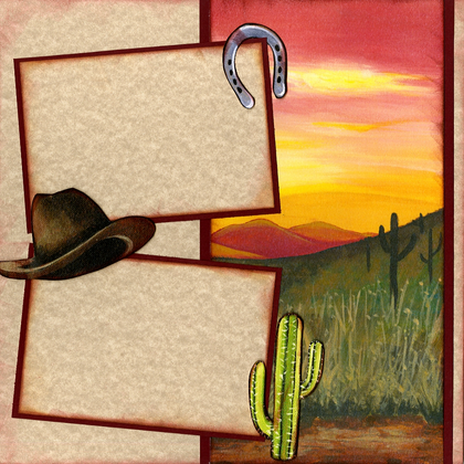 Out West Page Kit - Right