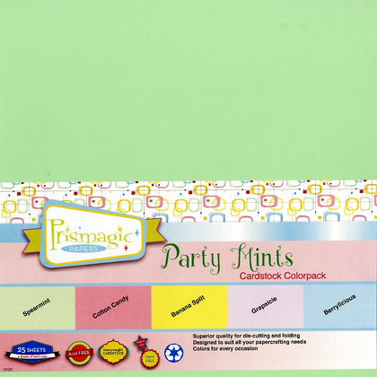 Party Mints Cardstock Colorpack