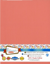 Peach Cobbler / Letter Size / 25 Sheet Pack