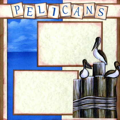 Pelicans (Page Kit)-Left