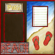Pier Beach Walk Quick Pages Set-Left & Right