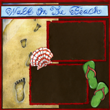 Pier Beach Walk Quick Pages Set-Right