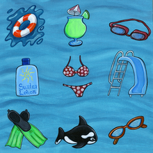 Pool Fun Cut Outs