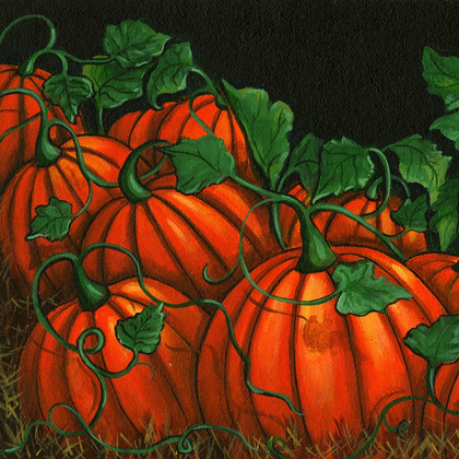 Pumpkin Patch - Print