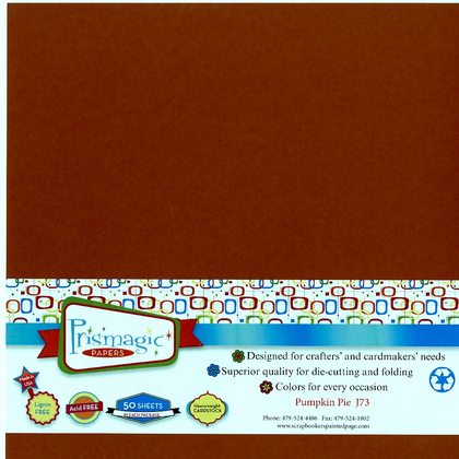 Pumpkin Pie / 25 Sheet Pack