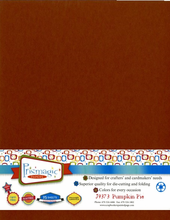 Pumpkin Pie / Letter Size / 25 Sheet Pack