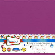 Raspberry Lollipop / 25 Sheet Pack