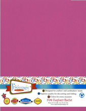 Raspberry Sherbet / Letter Size / 25 Sheet Pack