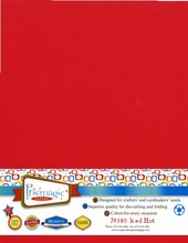 Red Hot / Letter Size / 25 Sheet Pack