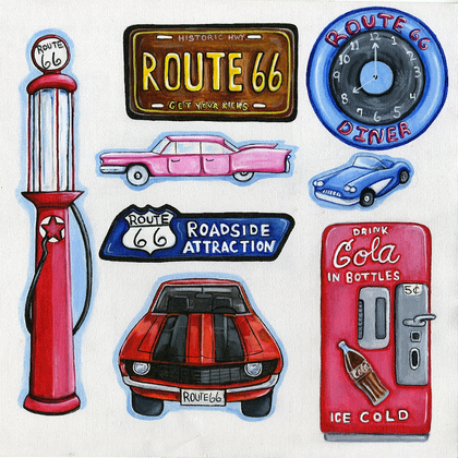Route 66 Cut Outs