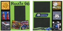 Route 66 Finished Page Set
