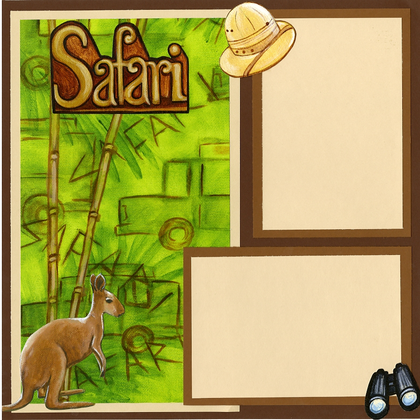 Safari Park (Page Kit) - Left