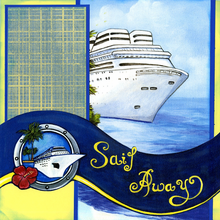 Sail Away - Quick Pages Set - Left & Right