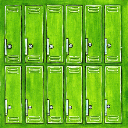 School Lockers - Print