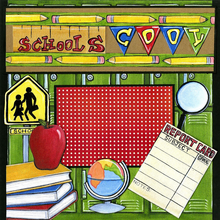 School's Cool - Quick Pages Set - Left & Right