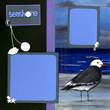 Seashore Life - Quick Pages Set - Left & Right