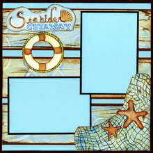 Seaside Getaway - Quick Pages Set - Left & Right