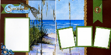 Seaside Memories Quick Pages Set