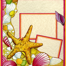 Seaside Treasures (Page Kit) - Left