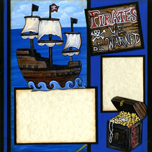 Ship's Ahoy (Page Kit) - Left