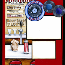 Soda Jerk Quick Page Set - Left