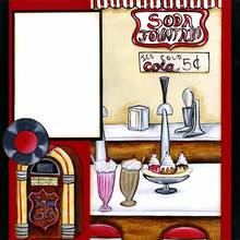 Soda Jerk Quick Page Set - Right