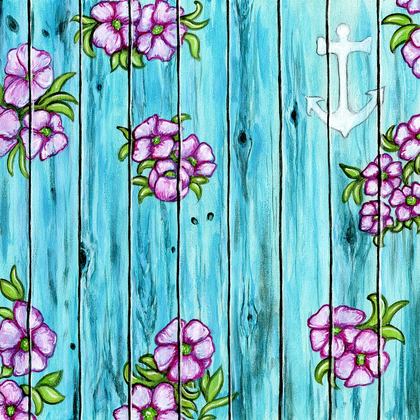 South Beach Painted Fence