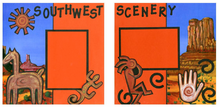 Southwest Scenery - Quick Pages Set