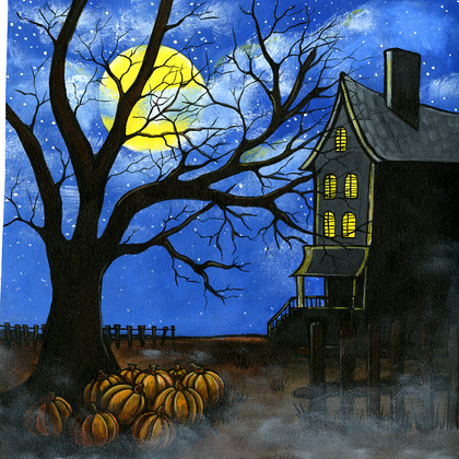 Spook House - Print