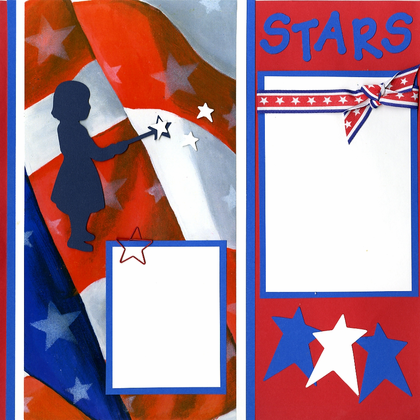 Stars & Stripes - Quick Pages Set - Left & Right
