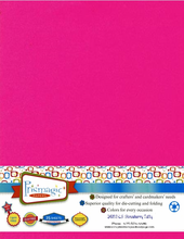 Strawberry Taffy / Letter Size / 25 Sheet Pack