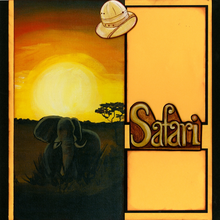 Sunset Safari (Page Kit) - Left