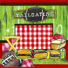 Tailgating - Quick Pages Set - Left