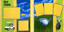 TEE TIME Quick Pages Set