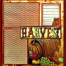 Thanksgiving Harvest - Right