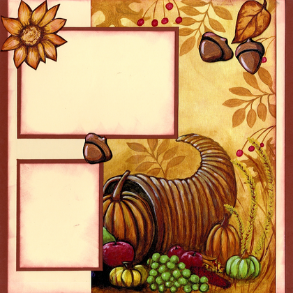 Thanksgiving - Right Page