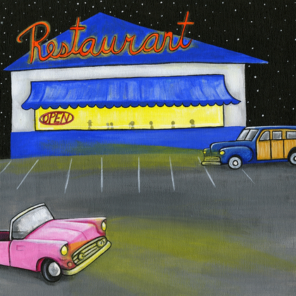 The Diner - Print