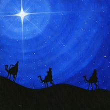 Three Wise Men - PRINT