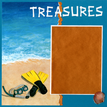 Treasures of The Sea - Quick Pages Set - Left & Right