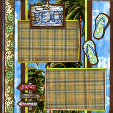 Tropical Beaches - Quick Pages Set - Left & Right
