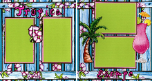 Tropical Escape Quick Pages Set
