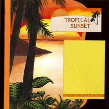 Tropical Sunset - Quick Pages Set - Left & Right